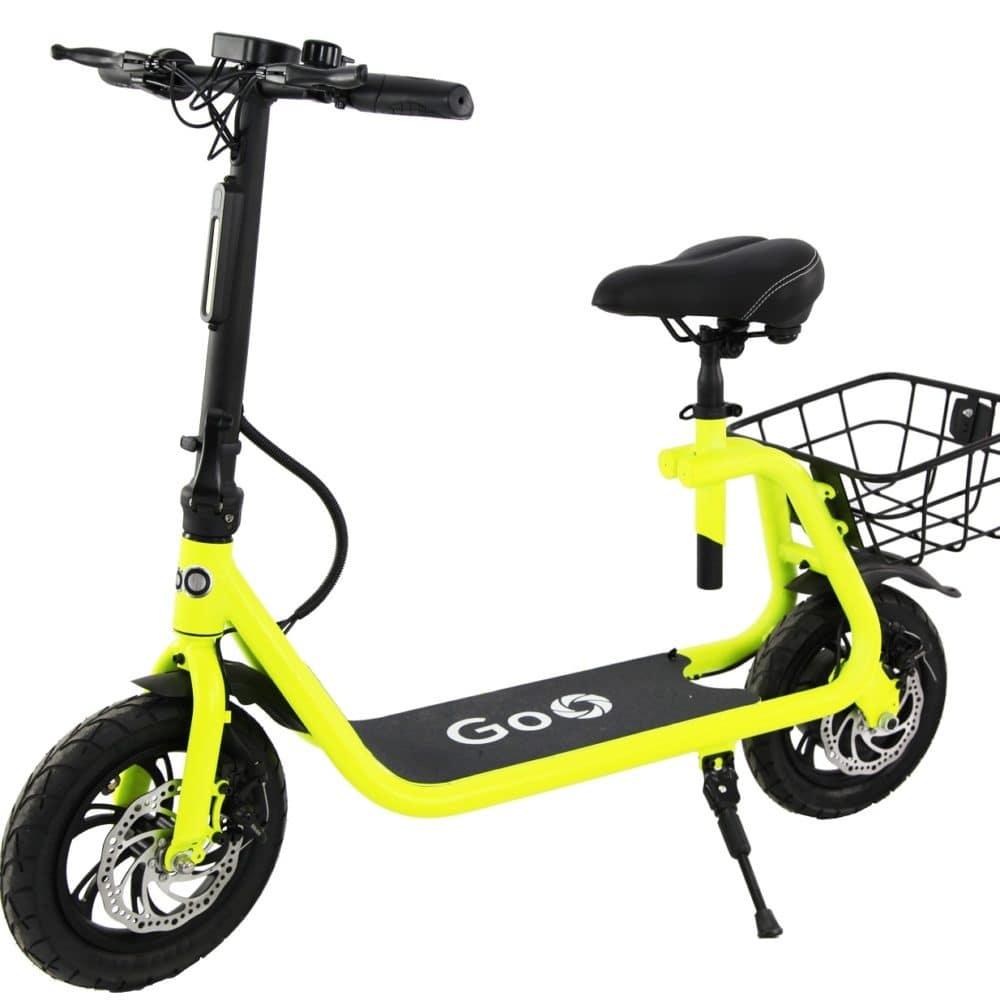 Mini Bike Elétrica STB20 amarela Eco Motors Brasil