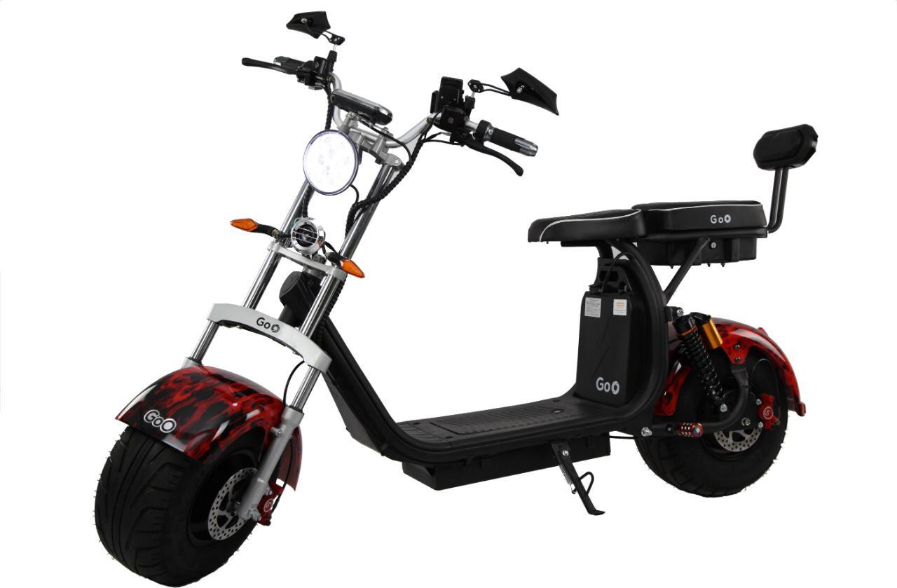 moto scooter eletrica ecomotors modelo X10