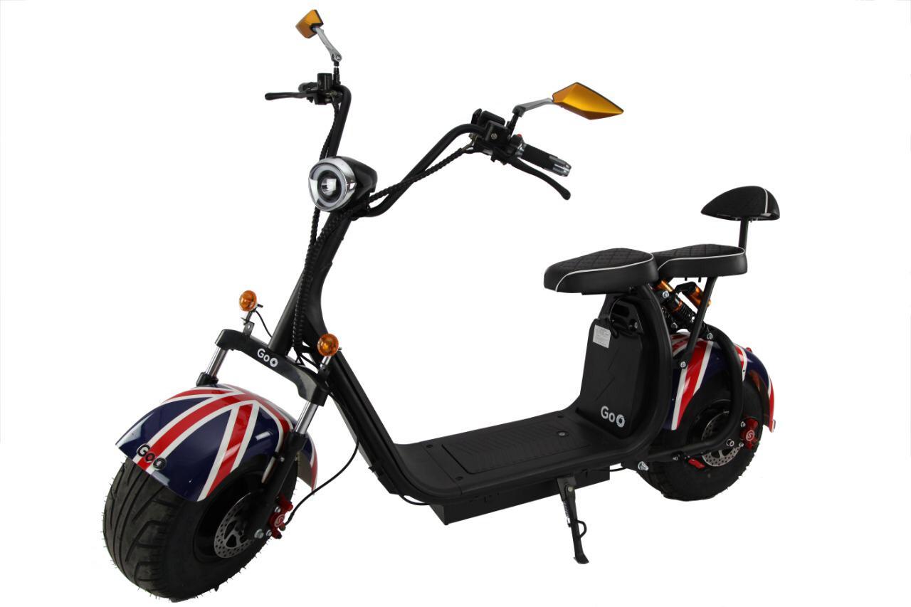 moto eletrica scooter inglaterra ecomotors goo X7
