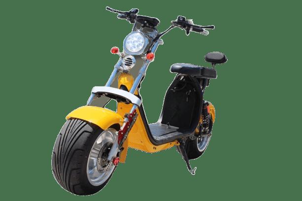 moto scooter eletrica 3000w eco motors brasil modelo goo X12 amarela