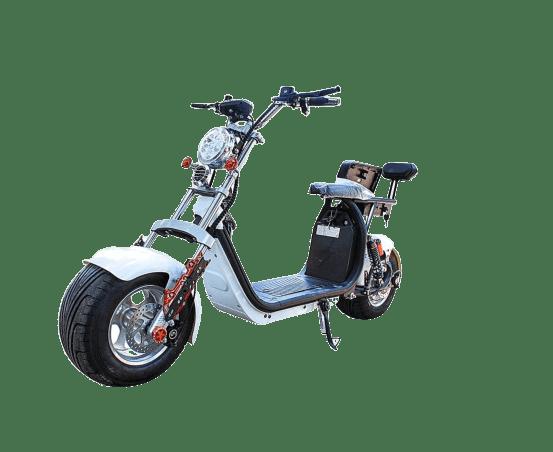 moto scooter eletrica branca 3000w eco motors brasil