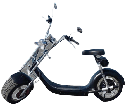 moto scooter eletrica preta eco motors brasil veiculos eletricos goo x15_