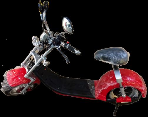moto scooter eletrica vermelha eco motors brasil veiculos eletricos goo x15_